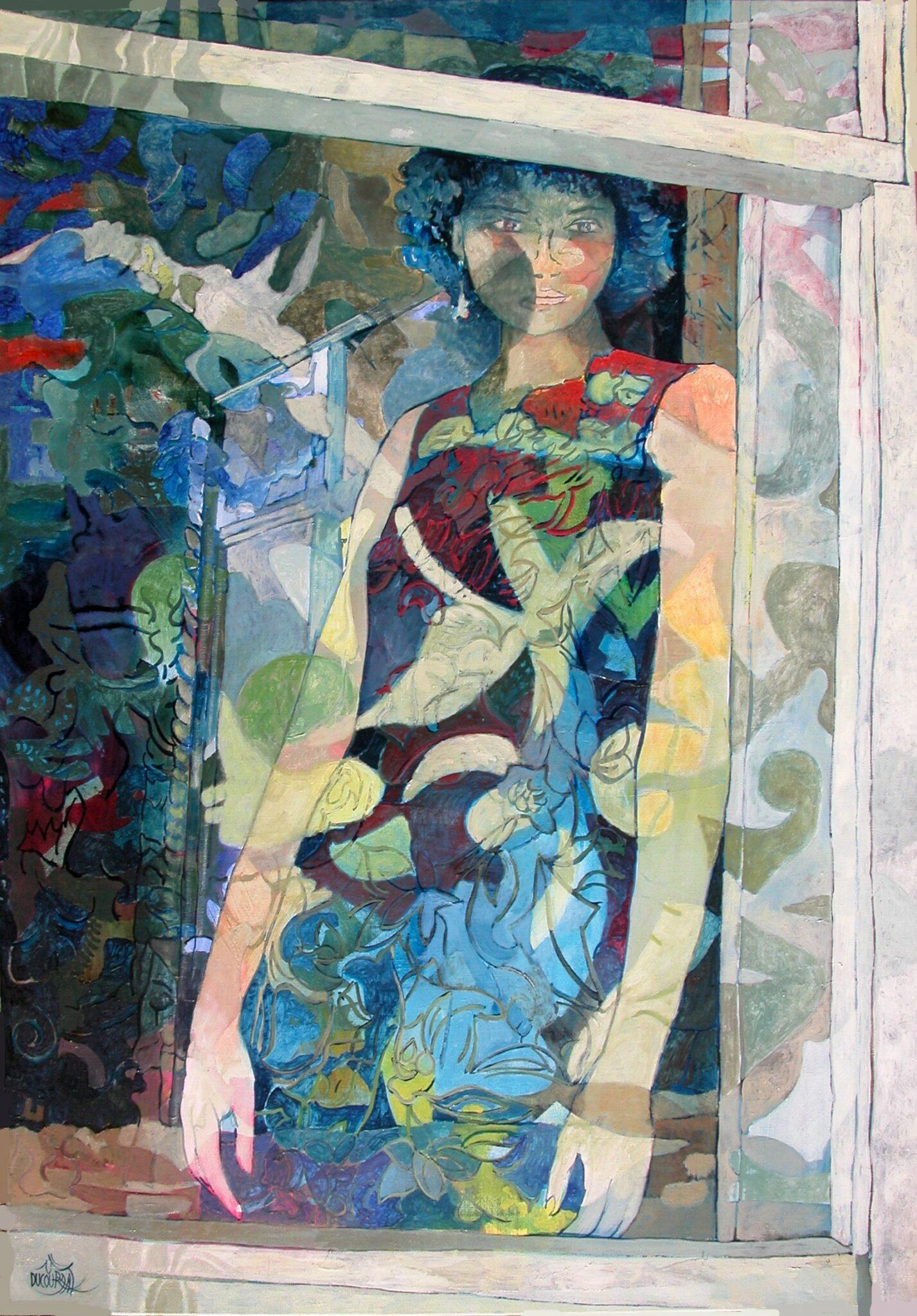 Les si doux reflets de la pensée - 116x81cm - 2014