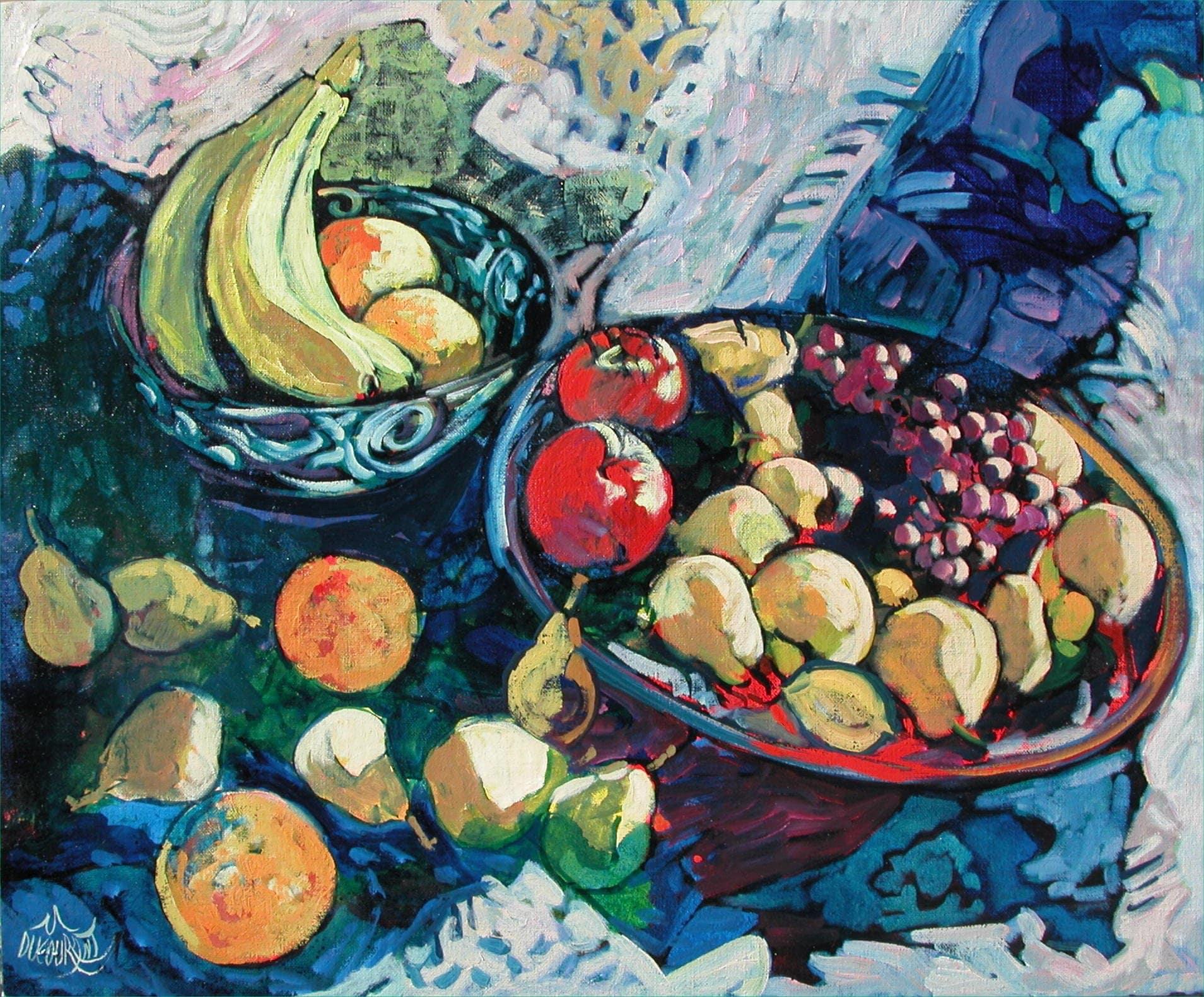 La belle vie des fruits - 65x54cm