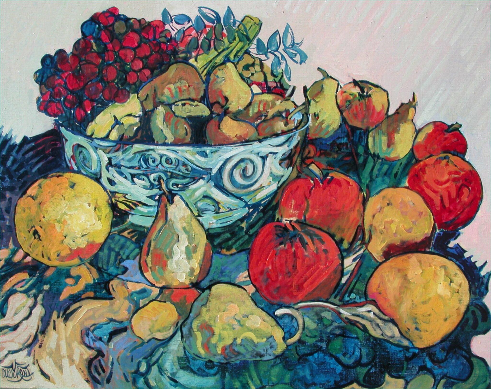 Les fruits de la Javanaise - 92x73cm