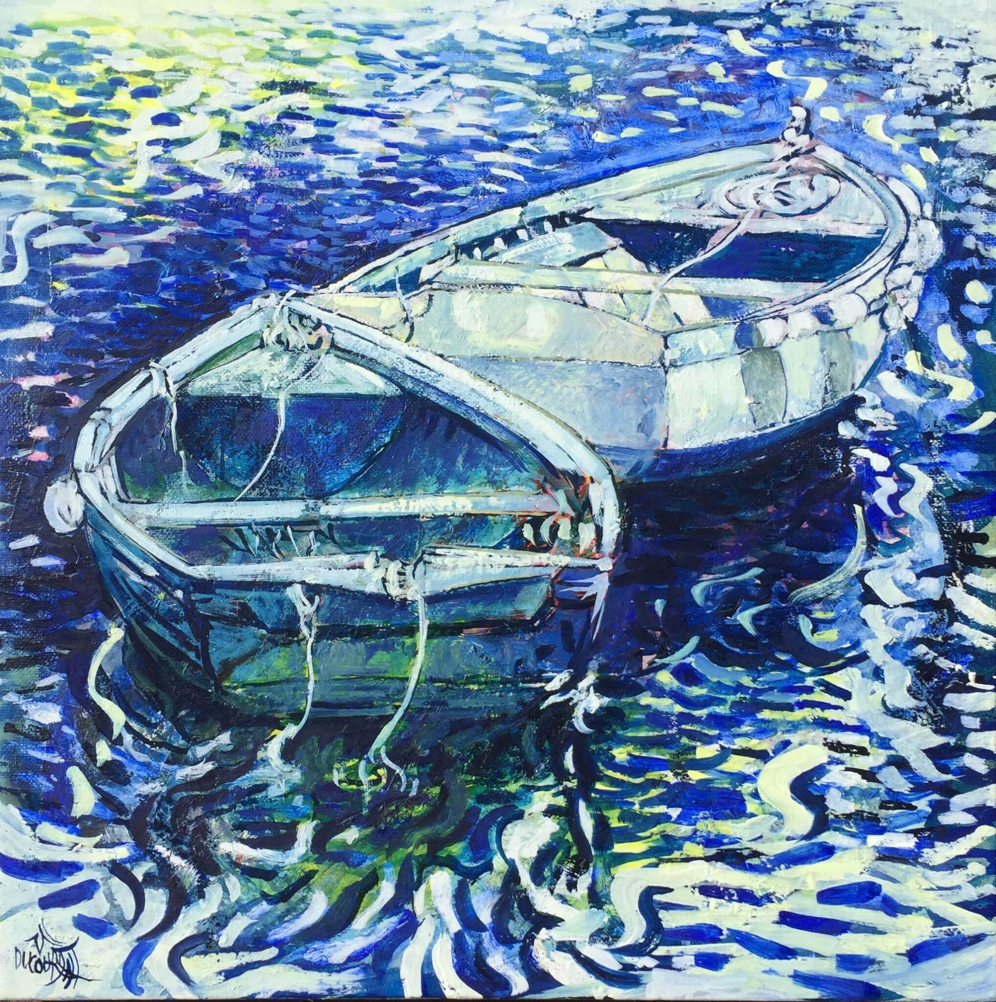 Les menus plaisirs des barques d'Aven - 40x40